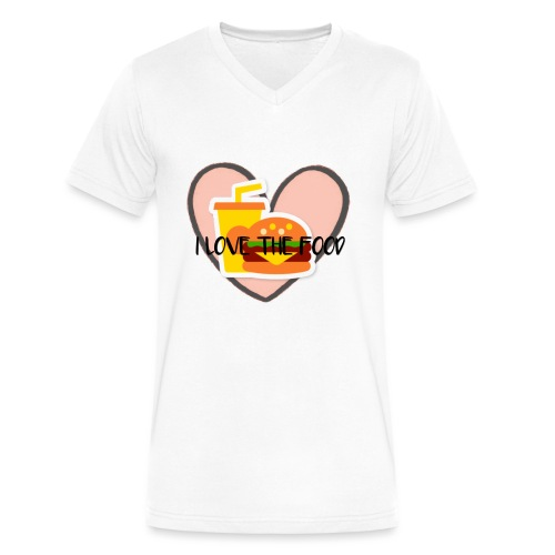 Food - Men's V-Neck T-Shirt by Canvas