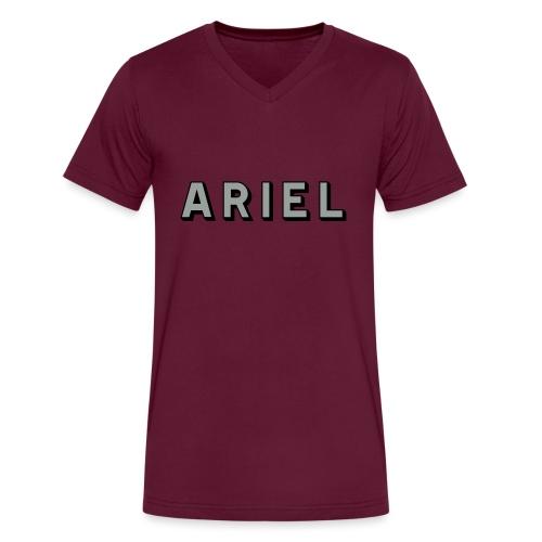Ariel - AUTONAUT.com - Men's V-Neck T-Shirt by Canvas