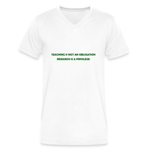 Teaching - Men's V-Neck T-Shirt by Canvas
