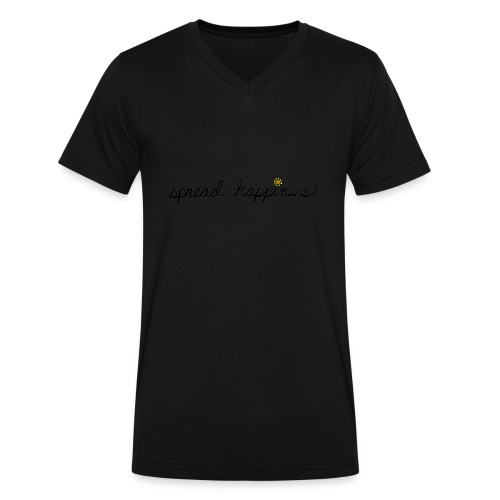 Spread Happiness Women's T-shirt - Men's V-Neck T-Shirt by Canvas