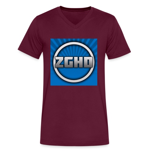 ZedGamesHD - Men's V-Neck T-Shirt by Canvas