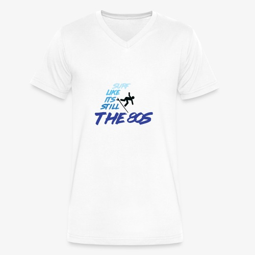 Still the 80s - Men's V-Neck T-Shirt by Canvas