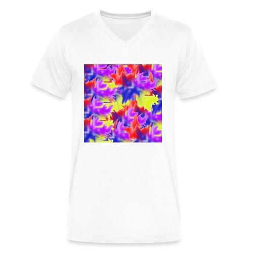 A Splash of Colour - Men's V-Neck T-Shirt by Canvas