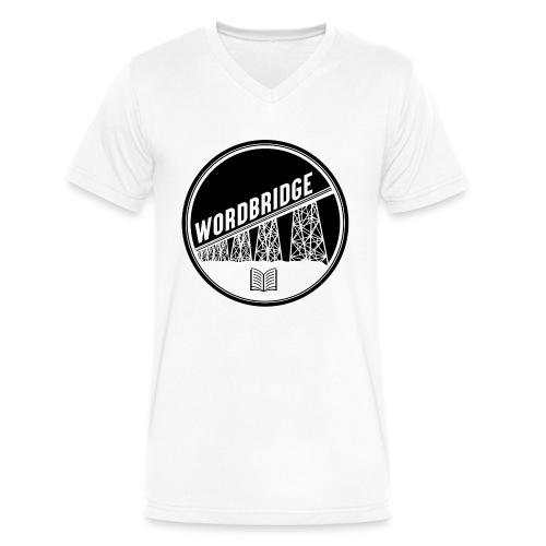 WordBridge Conference Logo - Men's V-Neck T-Shirt by Canvas