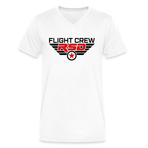 RSD Flight Crew - Men's V-Neck T-Shirt by Canvas