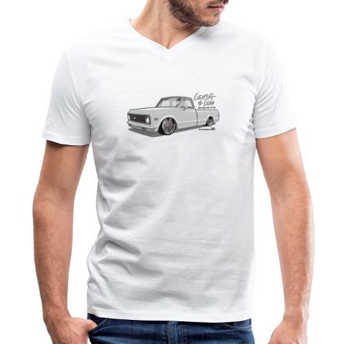 Long & Low C10 - Men's V-Neck T-Shirt by Canvas