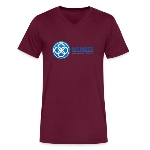 IICT Member Logo - Men's V-Neck T-Shirt by Canvas