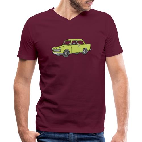 Trabant (baligreen car) - Men's V-Neck T-Shirt by Canvas