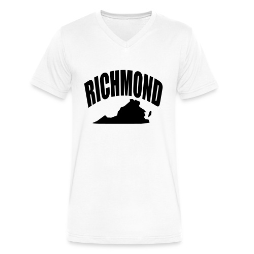 RICHMOND - Men's V-Neck T-Shirt by Canvas