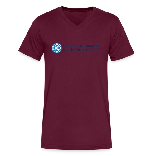 The IICT Brand - Men's V-Neck T-Shirt by Canvas