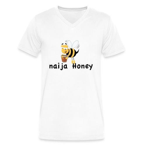 naija honey... - Men's V-Neck T-Shirt by Canvas