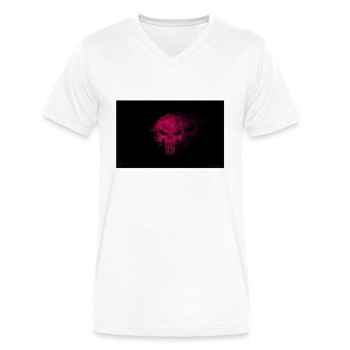 hkar.punisher - Men's V-Neck T-Shirt by Canvas