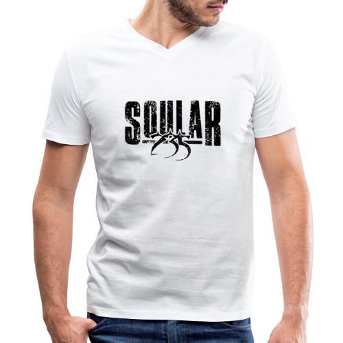 Soular235 (Logo) - Men's V-Neck T-Shirt by Canvas