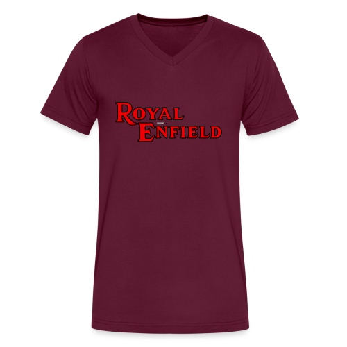 Royal Enfield - AUTONAUT.com - Men's V-Neck T-Shirt by Canvas