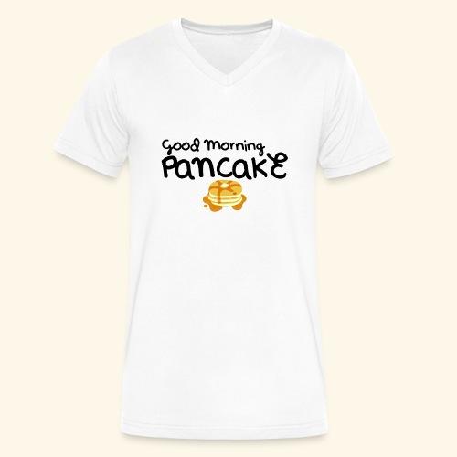 Good Morning Pancake Mug - Men's V-Neck T-Shirt by Canvas