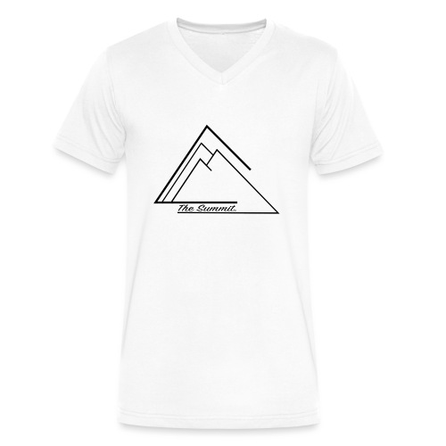 The Summit Phone case - Men's V-Neck T-Shirt by Canvas
