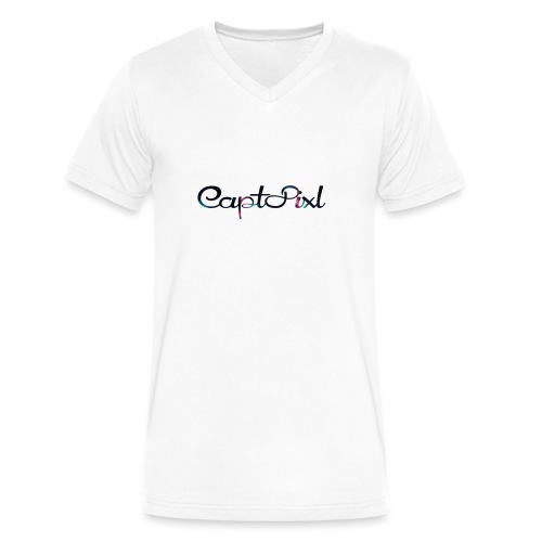 My YouTube Watermark - Men's V-Neck T-Shirt by Canvas