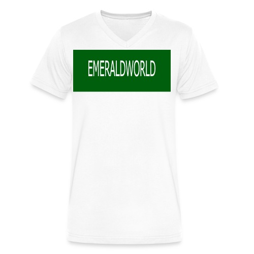 EMERALDWORLD MERCH - Men's V-Neck T-Shirt by Canvas