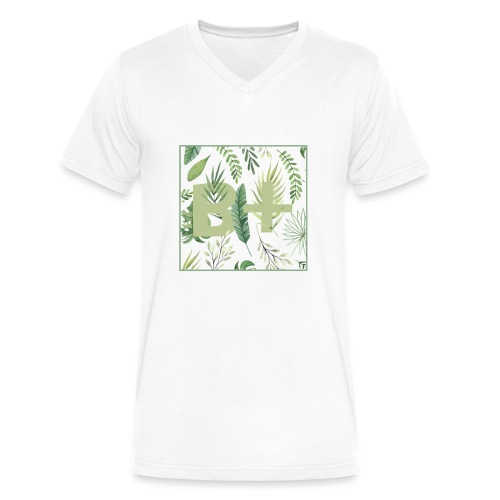 Be positive - Men's V-Neck T-Shirt by Canvas