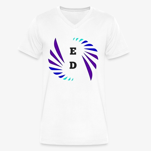 Entertainment Daily Logo - Men's V-Neck T-Shirt by Canvas