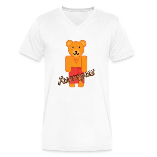 Presidential Suite Furrrgus - Men's V-Neck T-Shirt by Canvas