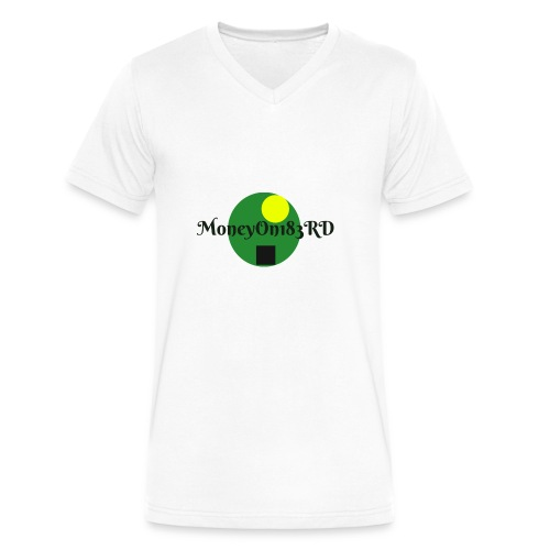 MoneyOn183rd - Men's V-Neck T-Shirt by Canvas