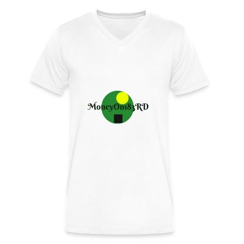 MoneyOn183rd - Men's V-Neck T-Shirt by Canvas