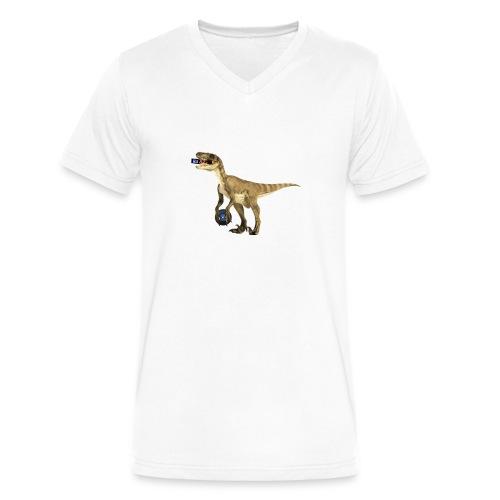 amraptor - Men's V-Neck T-Shirt by Canvas