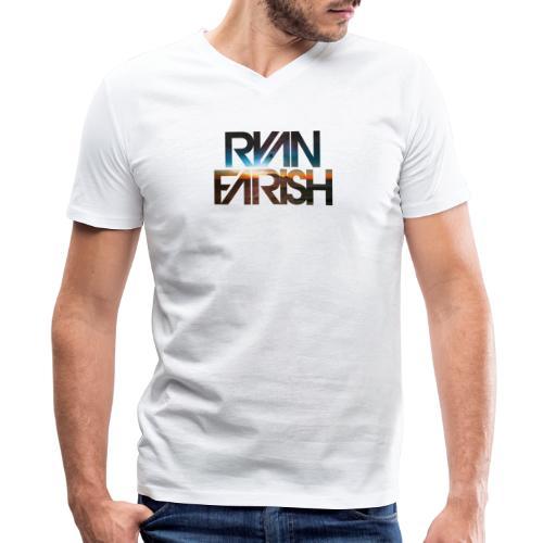 Ryan Farsh text logo - Men's V-Neck T-Shirt by Canvas