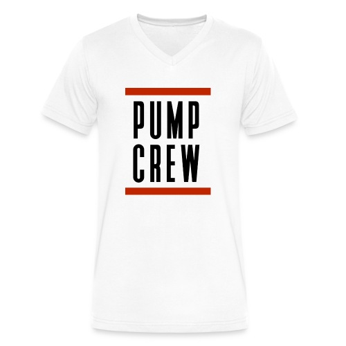 Pump_Crew_-_RUN_DMC - Men's V-Neck T-Shirt by Canvas