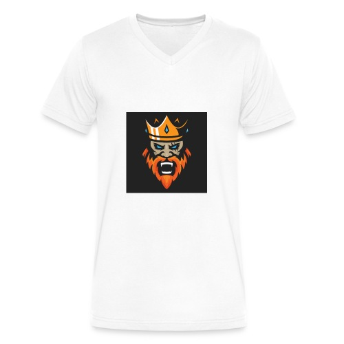 Kings - Men's V-Neck T-Shirt by Canvas