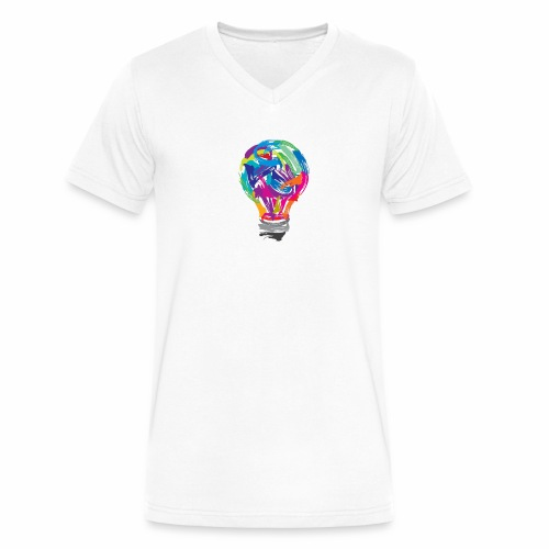 Creativity - Men's V-Neck T-Shirt by Canvas