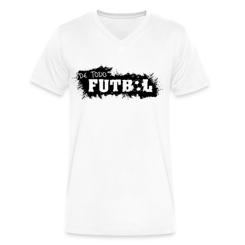 Futbol - Men's V-Neck T-Shirt by Canvas
