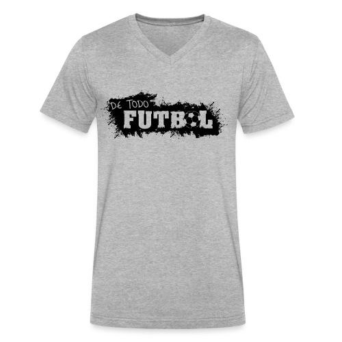 Futbol - Men's V-Neck T-Shirt by Canvas