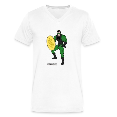 Superhero 4 - Men's V-Neck T-Shirt by Canvas
