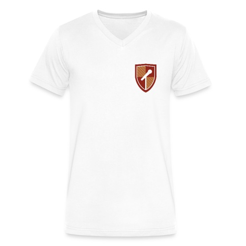 logo png - Men's V-Neck T-Shirt by Canvas