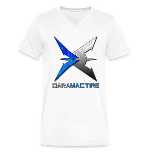 daramactirenewlogo - Men's V-Neck T-Shirt by Canvas