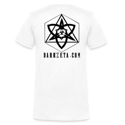 DarkZeta New Logo_AHDBL - Men's V-Neck T-Shirt by Canvas