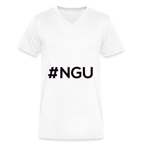 logo 11 final - Men's V-Neck T-Shirt by Canvas