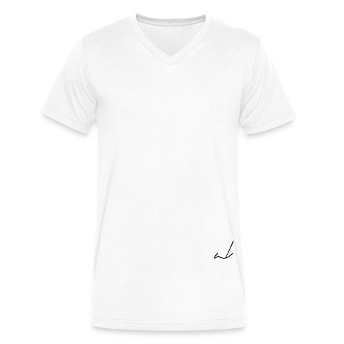 logo artbymkg vector - Men's V-Neck T-Shirt by Canvas