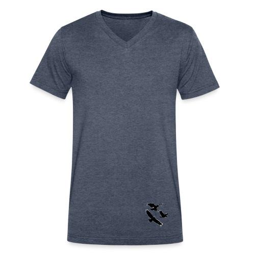 Eagle logo - Men's V-Neck T-Shirt by Canvas