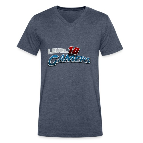 Level10Gamers Logo - Men's V-Neck T-Shirt by Canvas