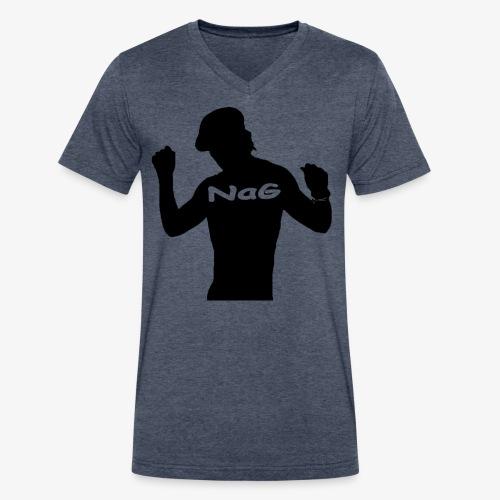 Hipster NaG - Men's V-Neck T-Shirt by Canvas