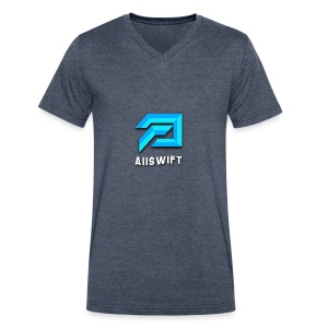 Aiiswift - Men's V-Neck T-Shirt by Canvas