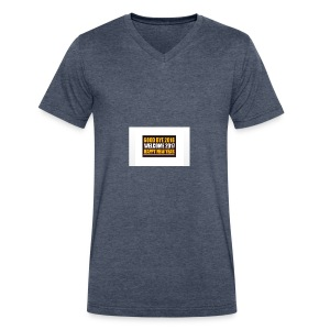 2017 - Men's V-Neck T-Shirt by Canvas