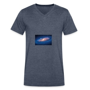 galaxy - Men's V-Neck T-Shirt by Canvas