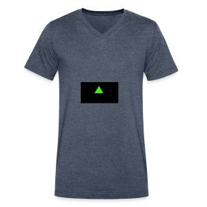 Emerald_Logo - Men's V-Neck T-Shirt by Canvas