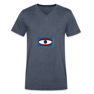 cyclops - Men's V-Neck T-Shirt by Canvas