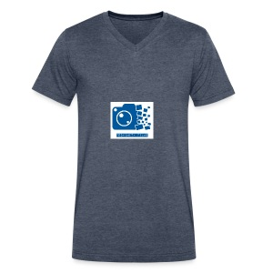 Proximity Films official logo - Men's V-Neck T-Shirt by Canvas