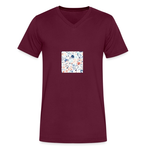 flowers - Men's V-Neck T-Shirt by Canvas